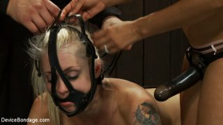 Hot Blond BDSM Slave get.. Devicebondage.com – sexytube.vip