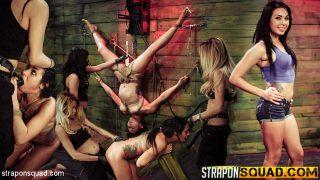 Rope Suspension BDSM Fun for.. Straponsquad.com – sexytube.vip